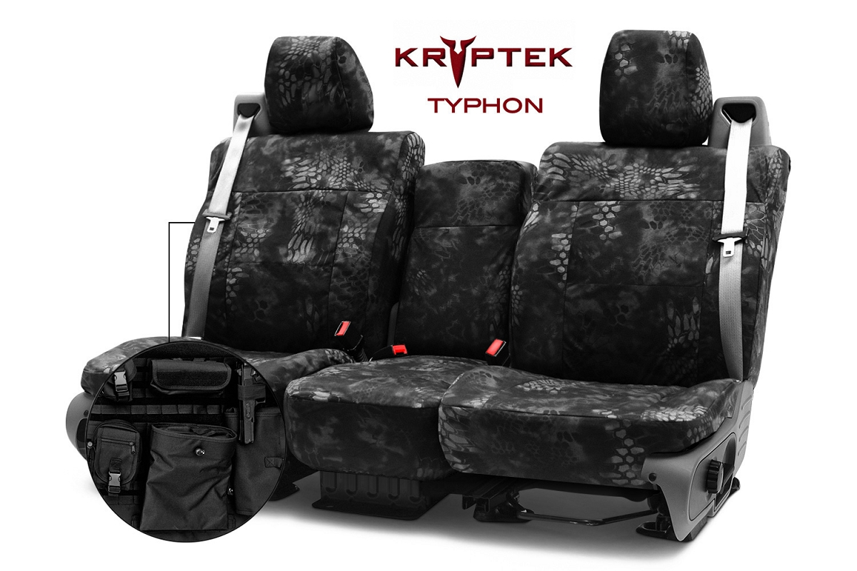 2011 2012 F150 Coverking Ballistic Typhon Camo Front Seat