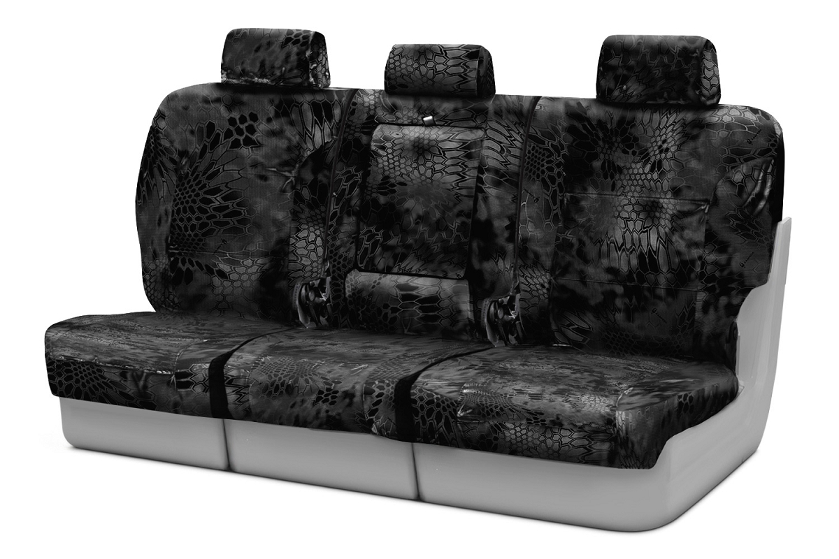 2009 2010 F150 Coverking Ballistic Typhon Camo Rear Seat Covers Ctsckt06