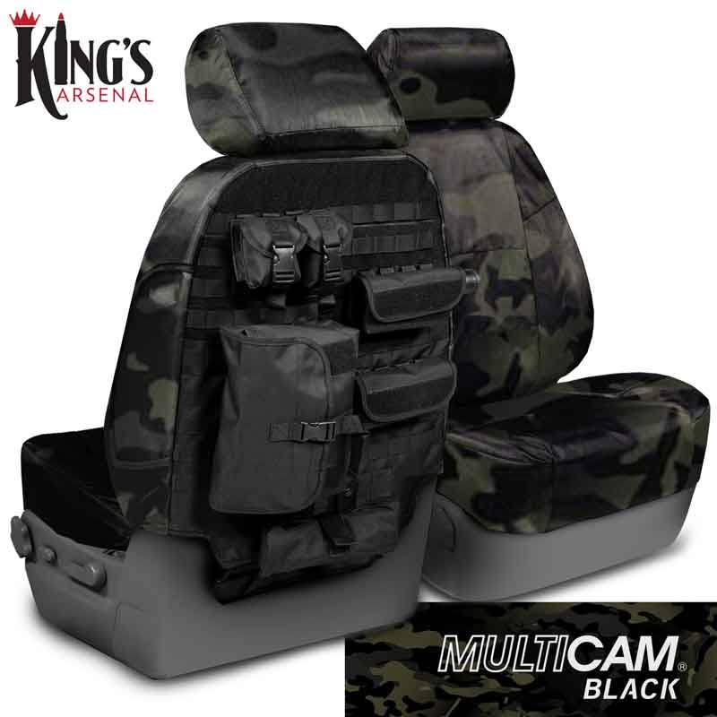 2011 2012 F150 Coverking Ballistic Multi Cam Front Seat