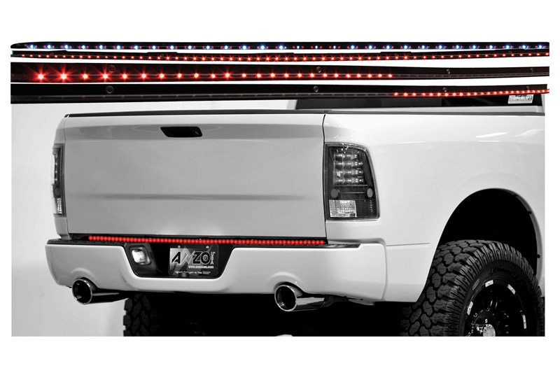 Led Tailgate Light Bar Wiring Diagram 37 Images Pacer 000 531045 60 Anzo 4 Function Ledbar 2 Inch