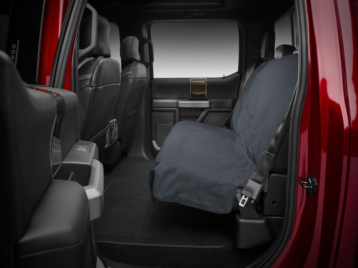Preserve The Interior Your Weathertech Awesome Rear Seat Protectors