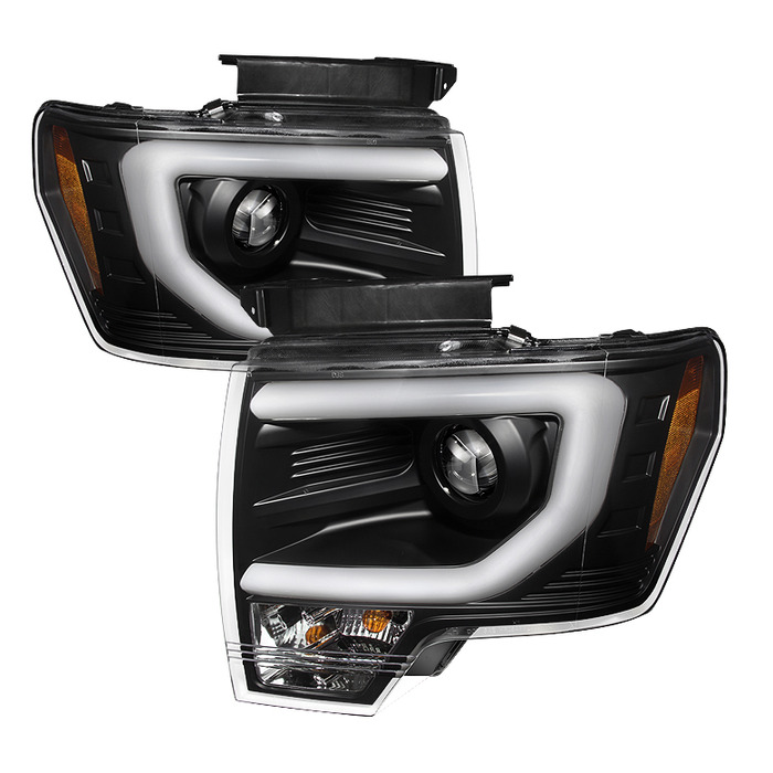 2009 2014 F150 Amp Raptor Spyder Projector Headlights W Drl