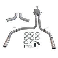 1997-2003 F150 Flowmaster Force II Dual Exit Cat-Back Exhaust (Stainless)
