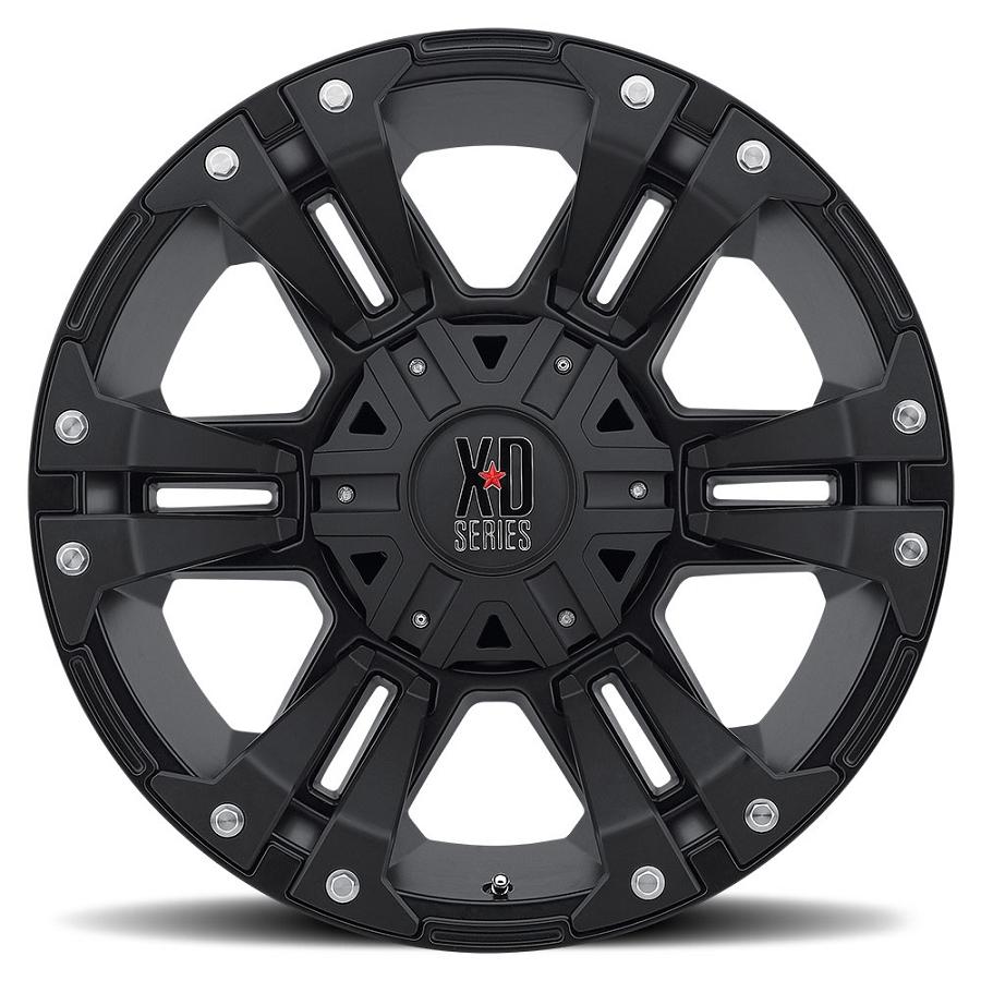 2004 2019 F150 Xd 20x9 Quot Matte Black Monster Ii Wheel 18mm