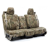 2015-2017 F150 CoverKing Ballistic Multi-Cam Front Seat Covers (Tan)