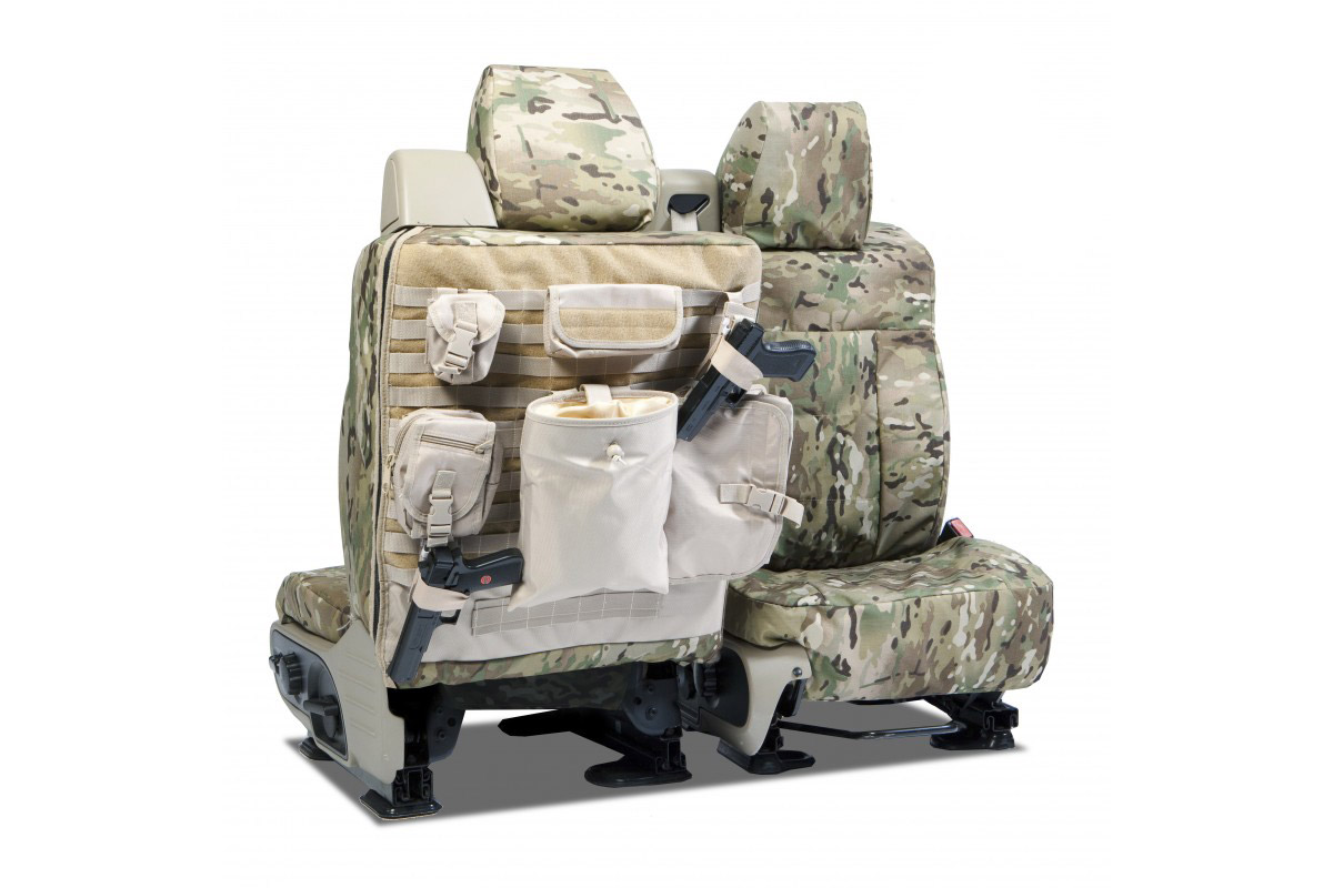 2009-2010 F150 CoverKing Ballistic Multi-Cam Front Seat Covers (Tan)
