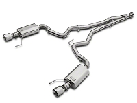 2015-2017 Mustang 2.3L EcoBoost Kooks Cat-Back w/ Y-Pipe (Polished Tips)