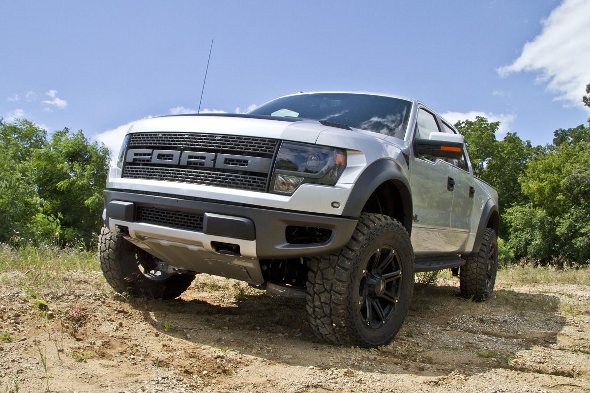 """2010-2013 F150 Raptor SVT 4WD BDS 4"""" Suspension Lift Kit 1511H2015 Ford Raptor Lifted"""
