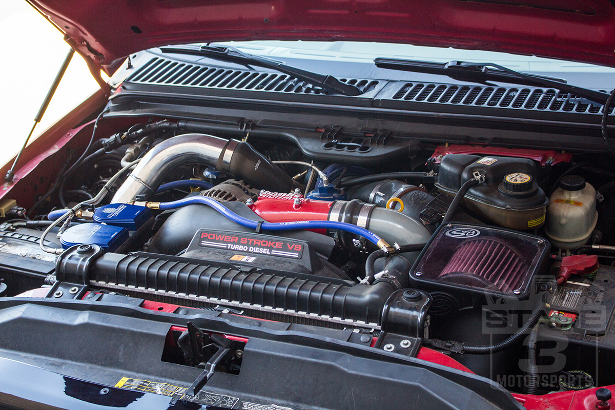 """2006 Mustang Gt 0 60 >> 2003-2007 F250/F350 6.0L MBRP 3"""" Passenger Side Intercooler Pipe IC1974"""
