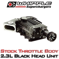 2003-2004 Mustang Cobra 4.6L Whipple W140AX Supercharger Kit (Black)