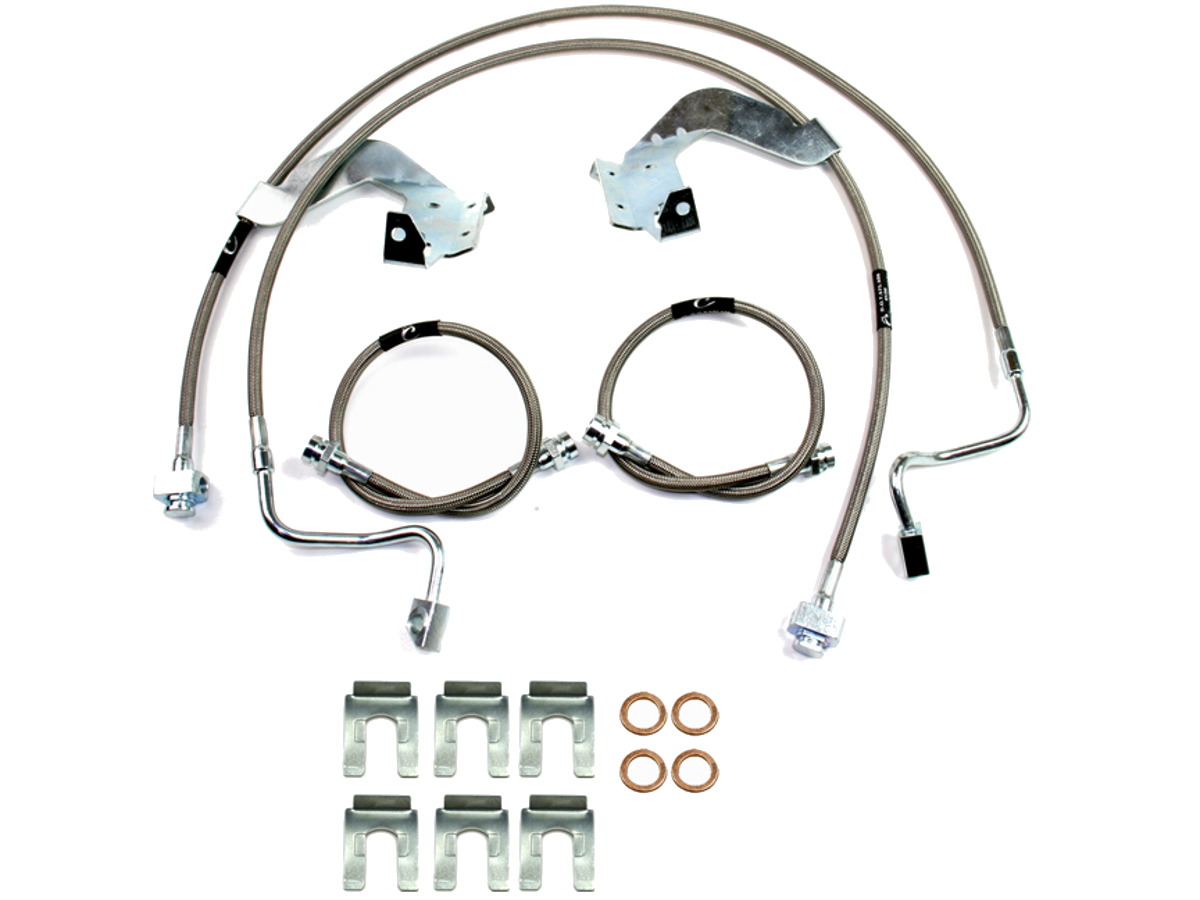 2002 F350 Brake Line On Back : F crown performance stainless steel