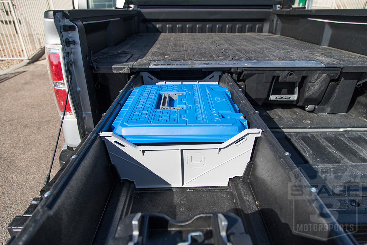 2015 2019 F150 Decked Truck Bed Sliding Storage System