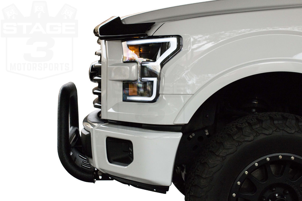 "2018 F150 Review >> 2004-2018 F150 Lund Bull Bar w/ 20"" LED Light Bar (Black) 47121206"