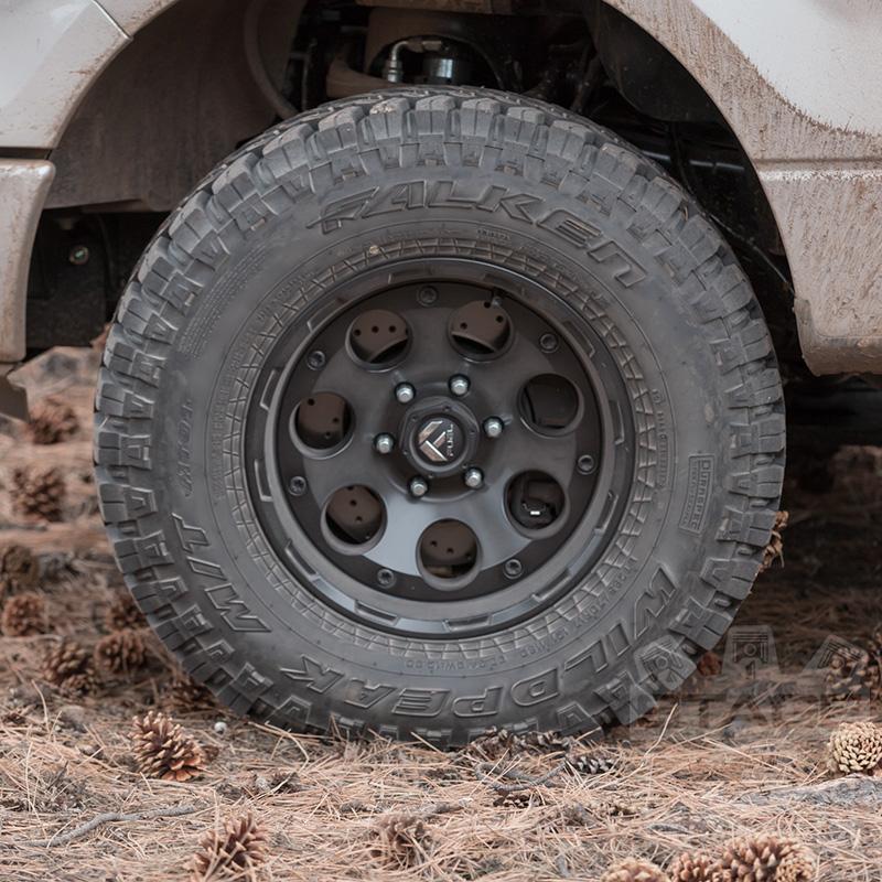 fuel enduro   wheel xmmmm offset matte black