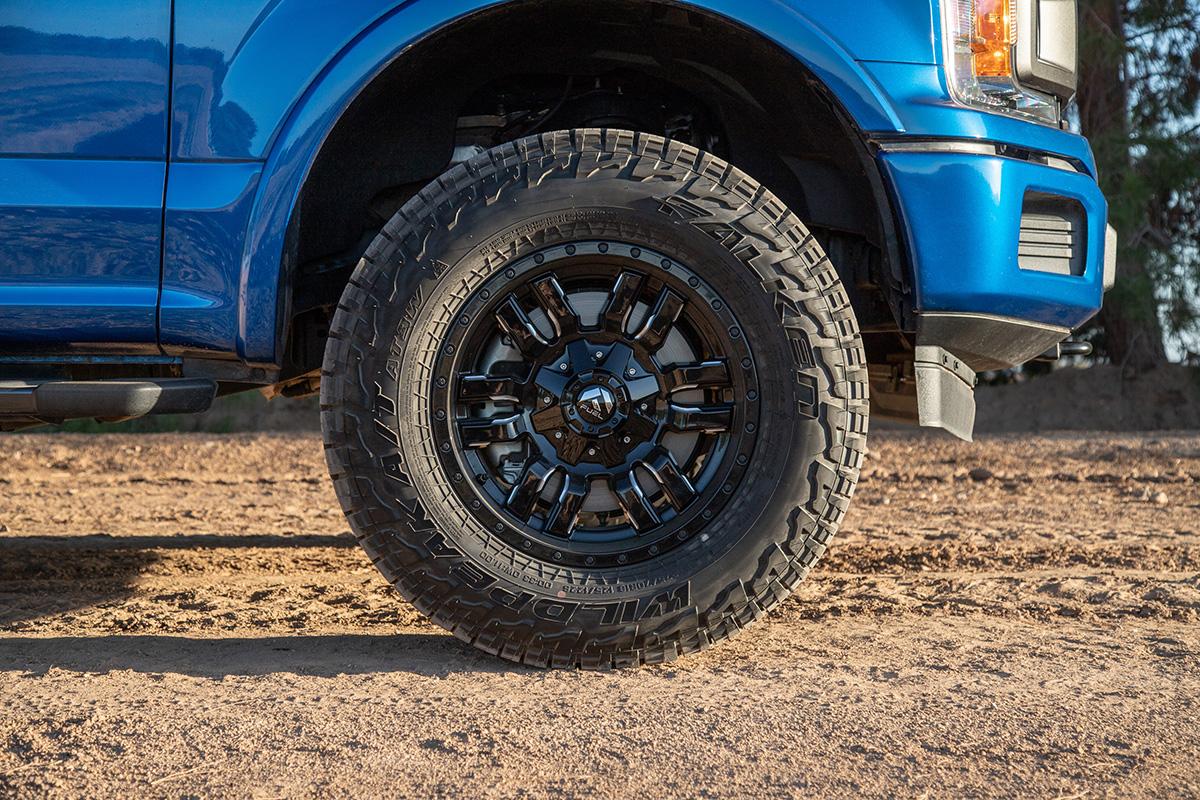 """2004-2019 F150 Fuel Sledge 18x9"""" D595 Wheel (6x135mm/01mm ..."""