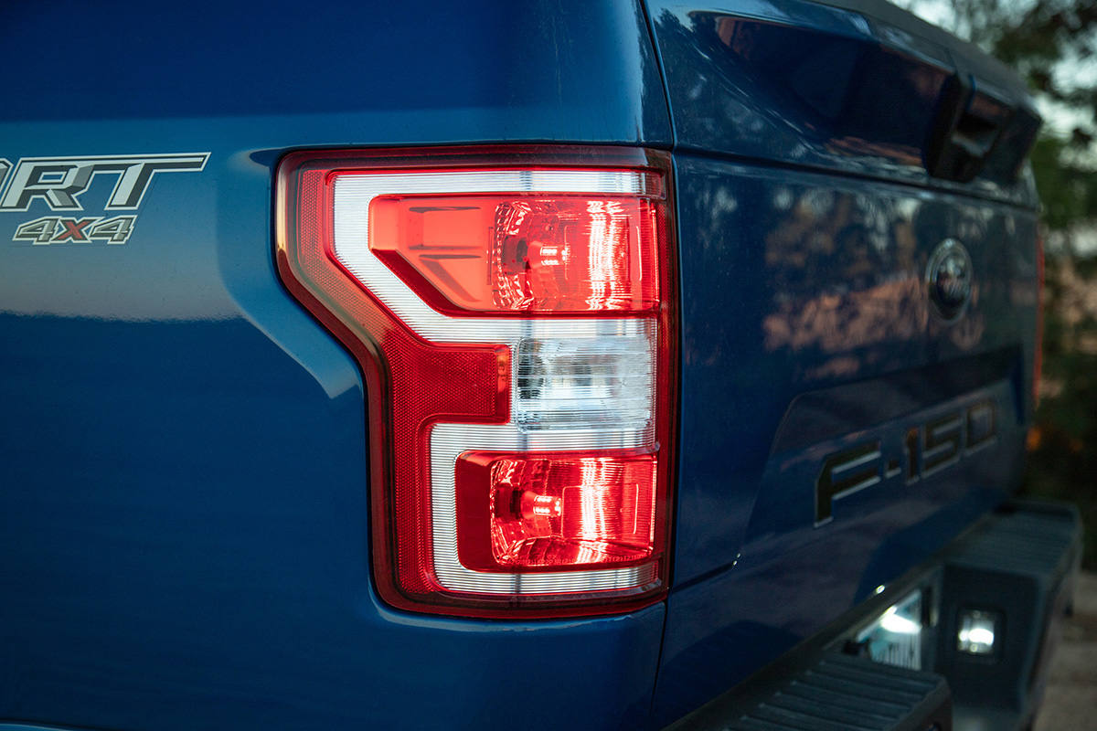 F150 Putco Plasma LED Taillight Bulbs