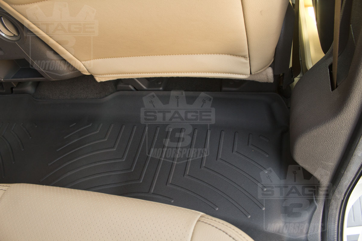 front weathertech install mats review americantrucks under ford weather rear seat watch all floor