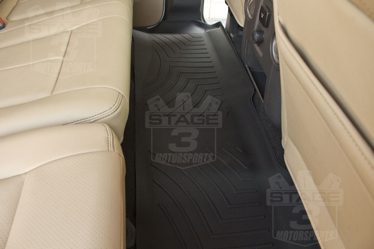 1999 2007 F250 Amp F350 Super Duty Supercrew Weathertech Digital Fit Front Amp Rear Floor Mats