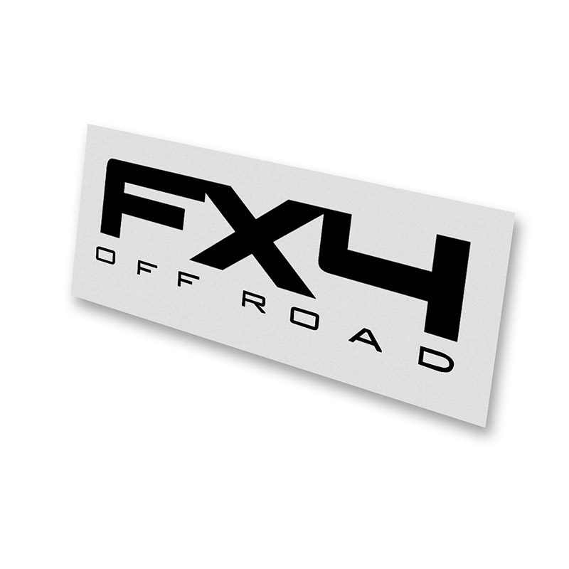 09-11 F150 FX4 Off-Road One-Color Bedside Decals