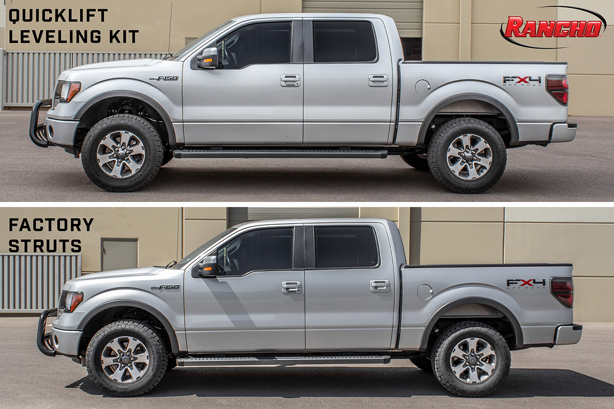 2009-2013 F150 RWD Rancho quickLift Loaded Leveling Kit ...