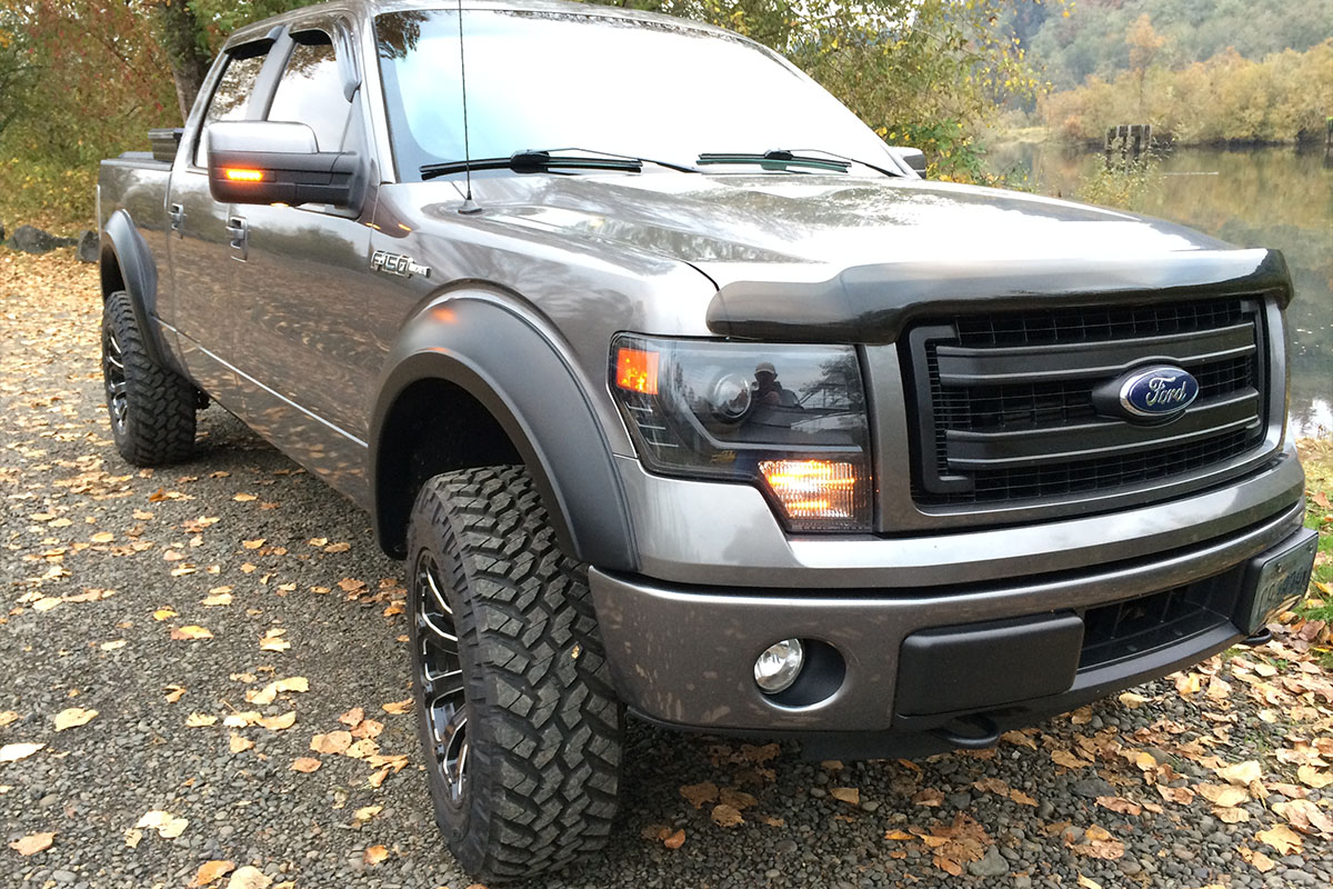 2009 2014 F150 Amp Raptor Anzo Led Mirror Marker Smoked 861114