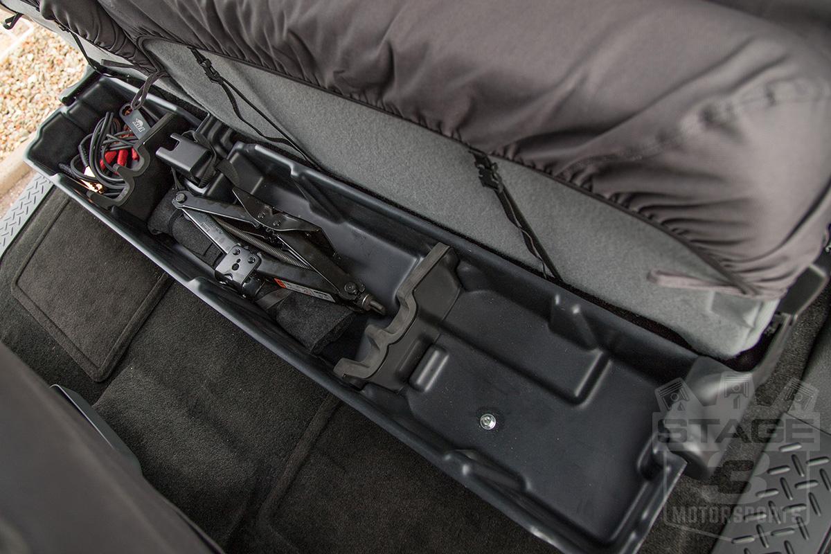 2009-2014 F150 SuperCab DU-HA Underseat Storage Unit/Gun ...