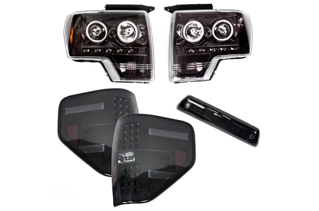2009-2014 F150 & Raptor S3M Recon Lighting Package (Smoked)