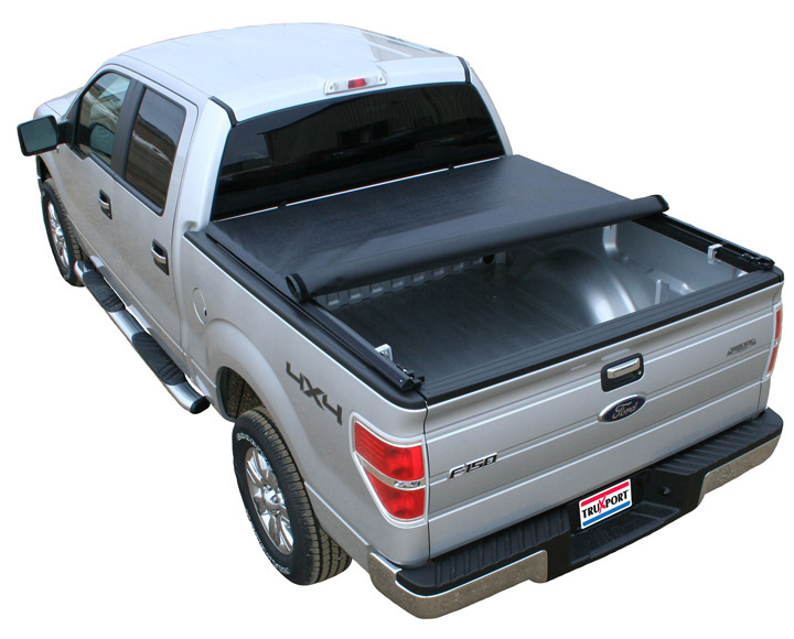 2009-2014 F150 & Raptor 5.5Ft Bed Truxedo TruXport Roll-Up Tonneau Cover (w/o Ford Cargo System)