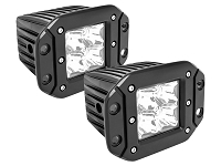 Westin FM4Q LED Flush Mount Off-Road Lights (Set of 2)