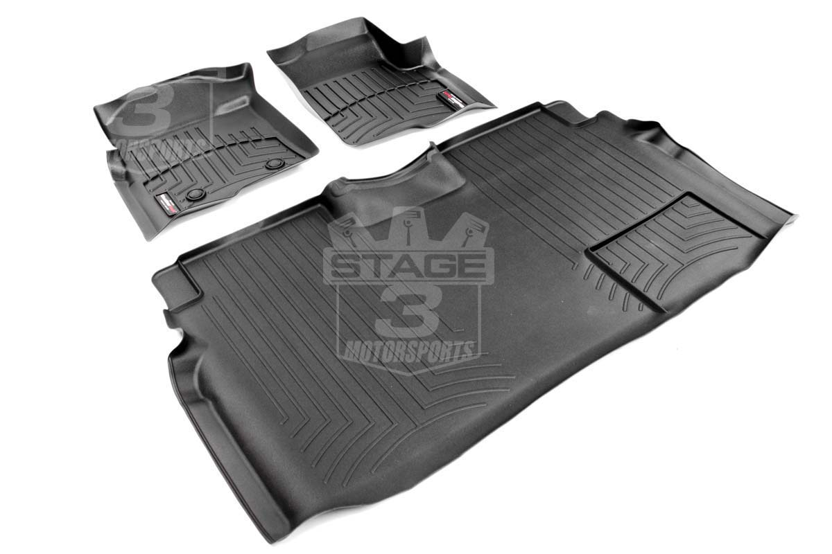 2009 2014 F150 Supercrew Weathertech Front Amp Rear Digital
