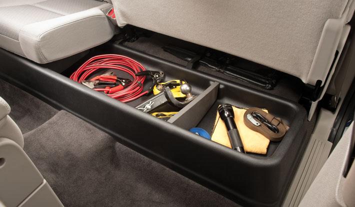 husky gearbox underseat storage super cab black