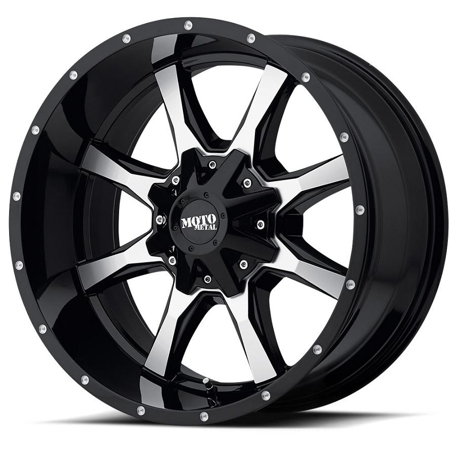 2004 2019 f150 moto metal mo970 18x10 gloss black machined wheel 1997 Ford F-150 2004 2019 f150 moto metal mo970 18x10