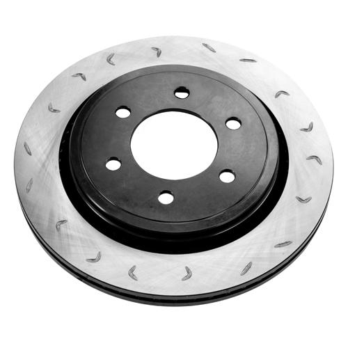 12-17 F150 & Raptor FactionFab Swept Slotted Manual Rear Rotor