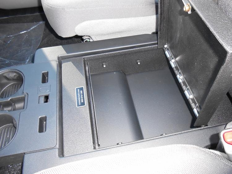 2015 2019 F150 Console Vault Gun Safe Under Front Middle