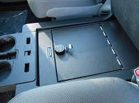 2015-2019 F150 Console Vault Gun Safe - Under Front Middle Seat