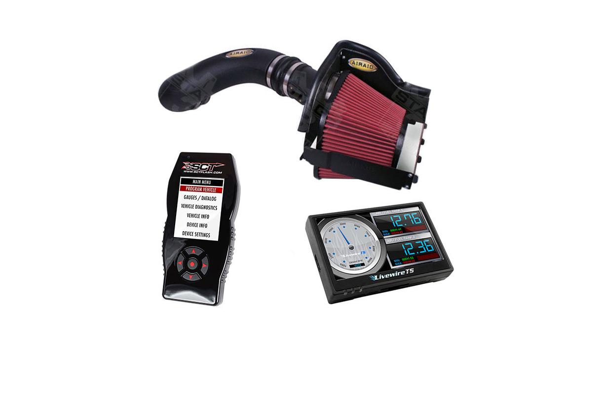 2011-2014 F150 5 0L Airaid Cold Air Intake & SCT Tuner with Custom Tunes