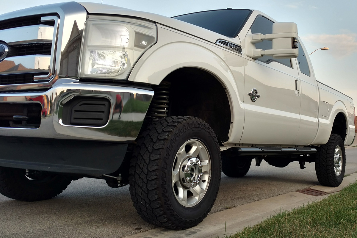 2015-2016 F250 Super Duty 4WD Rough Country 4.5 ...