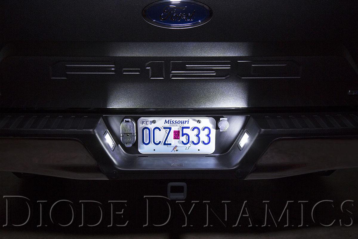 1997 2019 F150 Amp Raptor Diode Dynamics Led License Plate