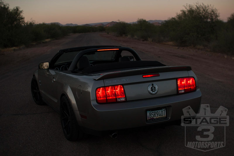 2007-2014 Mustang CDC Convertible Light Bar