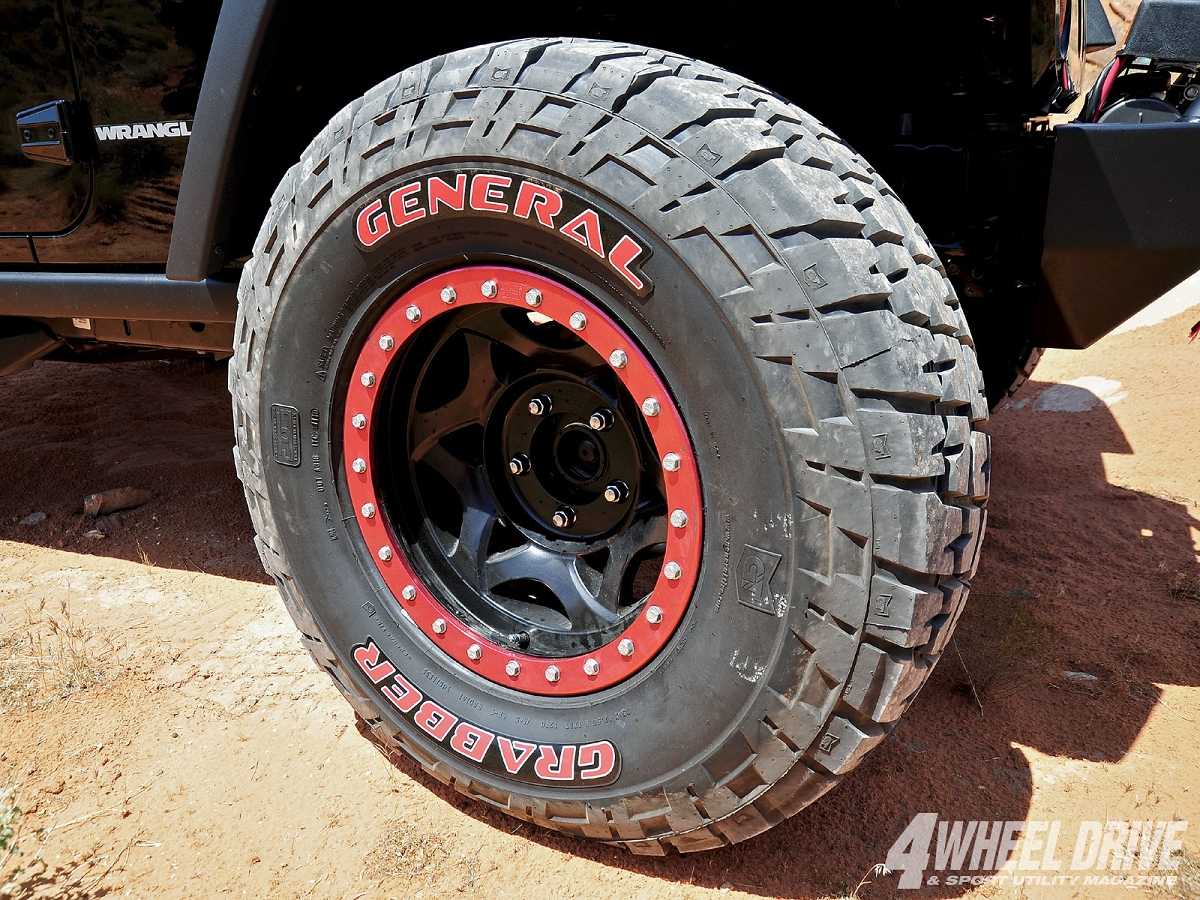 Cherokee Xj For Sale >> 35/12.50/20 General Grabber Red Letter Tire 04500640000