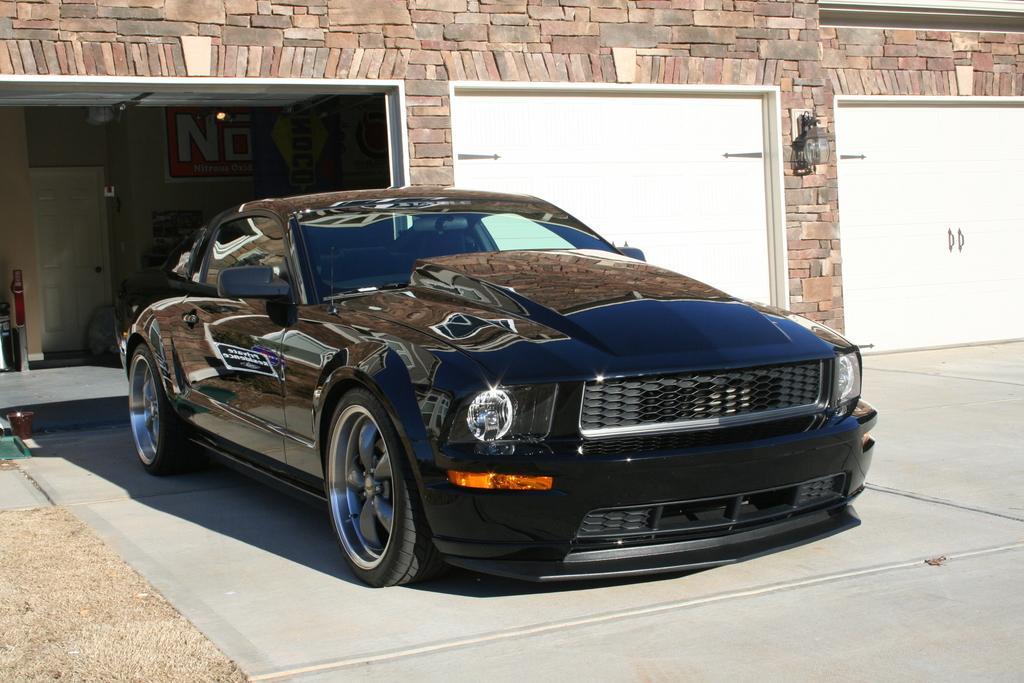 2005 2009 Mustang Cervini S 4 Cowl Hood Fiberglass 1172