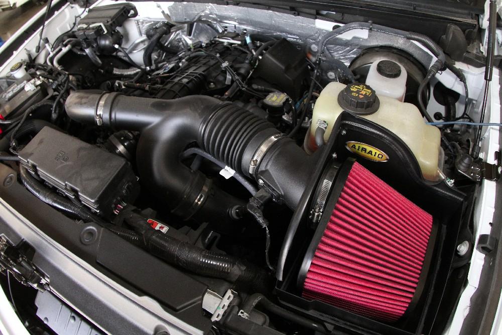 2010-2014 Ford F150 3.7L 3.5L 5.0L Airaid Cold Air Intake System Free Shipping