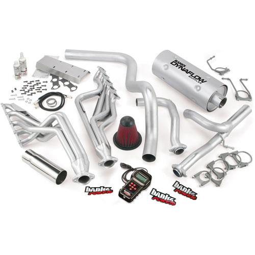 2005-2007 Class-C Motorhome E-Super Duty 6.8L V10 Banks Power Pack System - Headers/Exhaust/Tuner/Air Intake