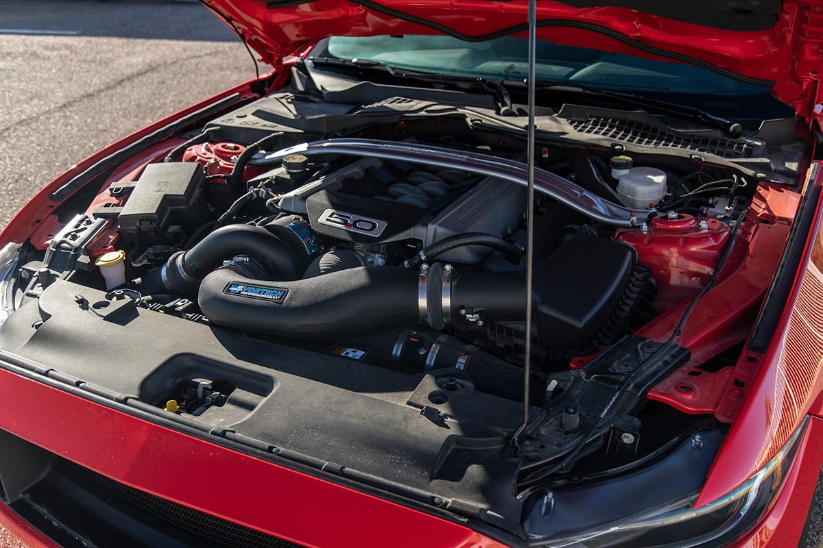 2015-2017 Mustang GT Vortech Black SI-Trim V3 Supercharger Kit (Black)