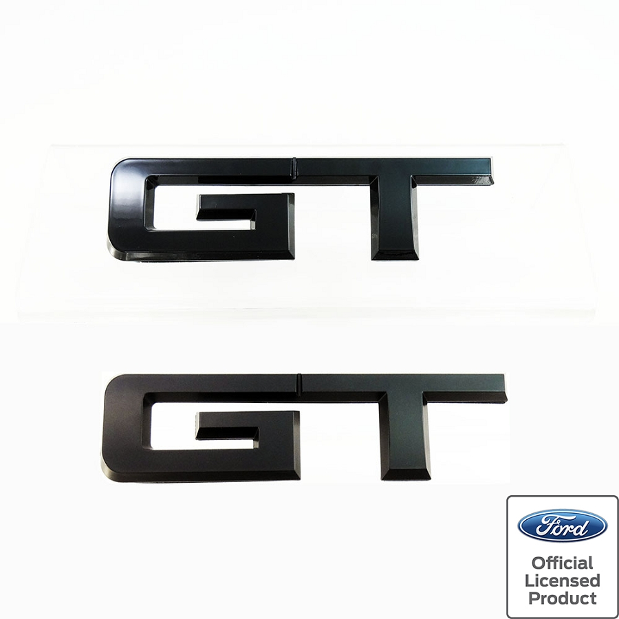 2015 2017 Mustang Upr Products Rear Gt Emblem Gloss Or