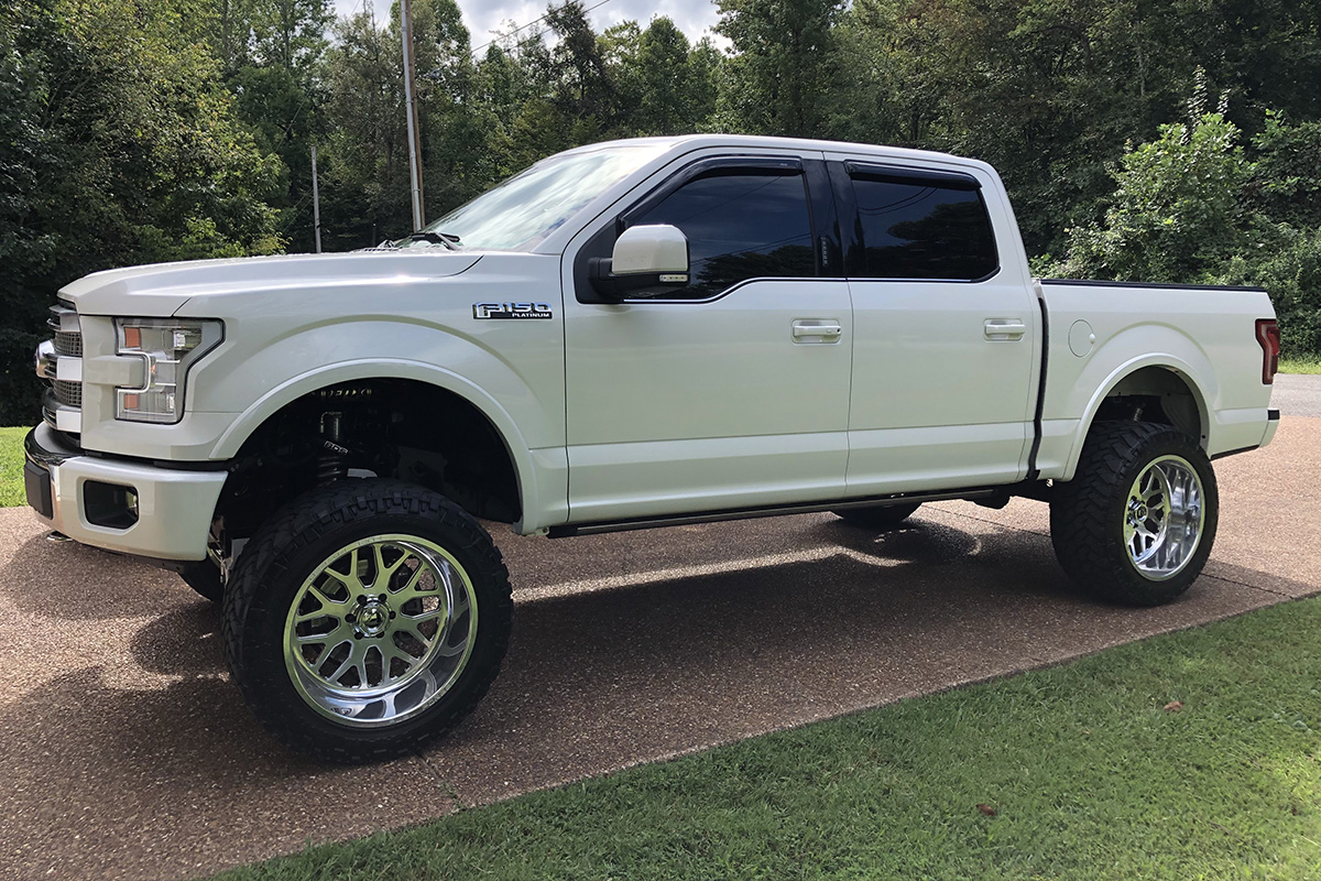 2015 F150 Lifted >> 2015 2017 F150 4wd Mcgaughys 6 5 Lift Kit W Shocks 57100