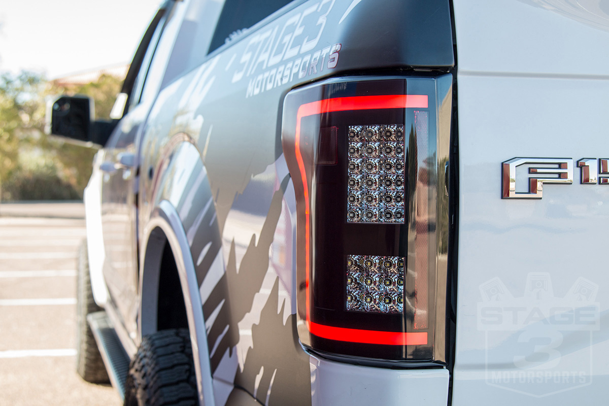 2017 Roush F 150 >> 2015-2017 F150 ANZO Gen 2 Smoked LED Outline Taillights 311286