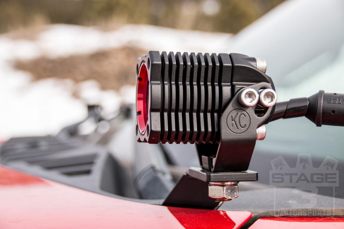 2015 2018 F150 Zroadz Hood Mount Kc Flex Series Package Wiring Lights Touch To Zoom