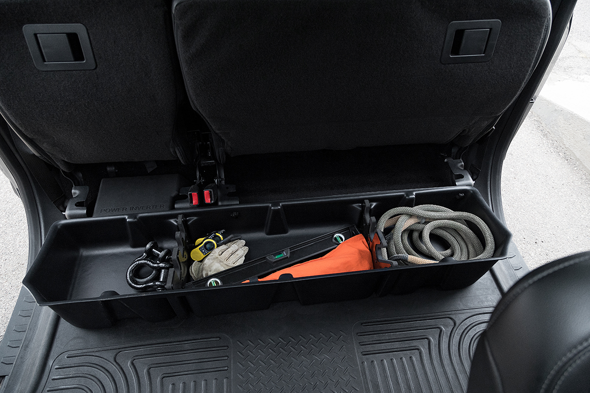 2015 2019 F150 Super Crew Du Ha Underseat Storage Unit Gun