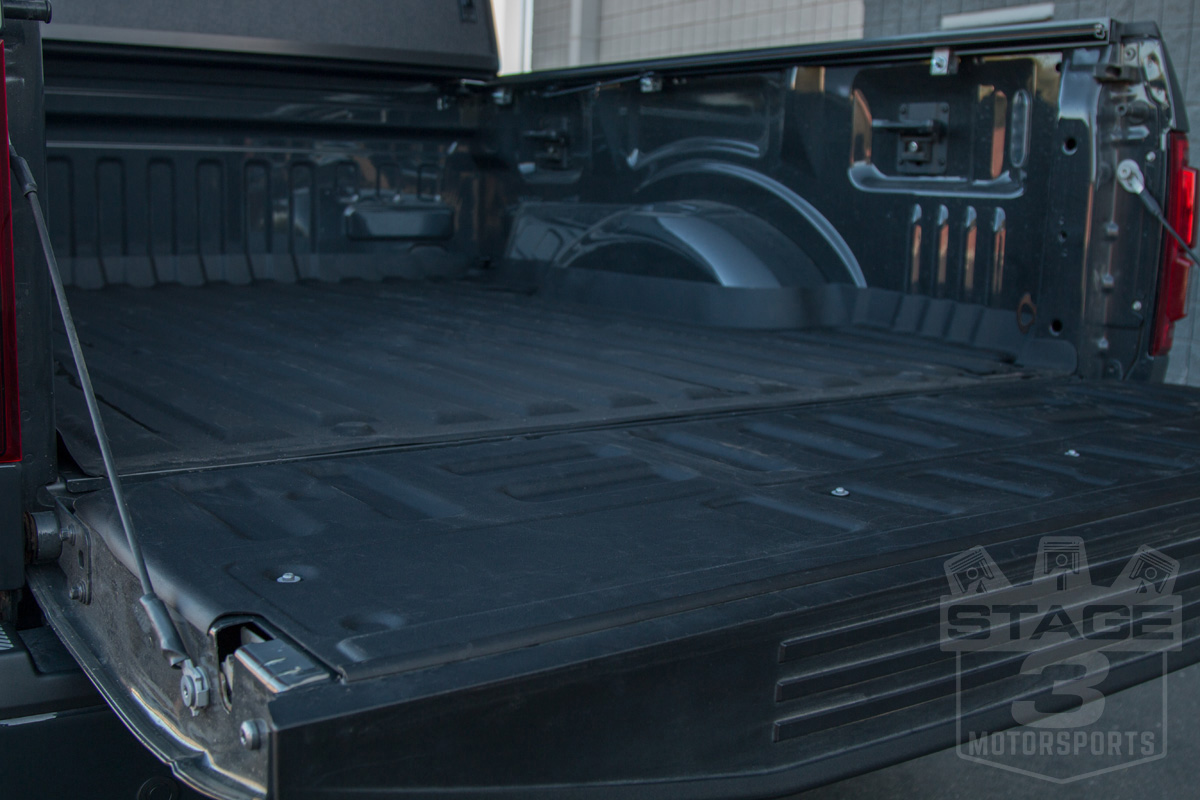 2015-2019 F150 WeatherTech Black Techliner Bed & Tailgate ...